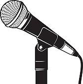 168x170 Microphone Stand Clip Art Clipart Panda