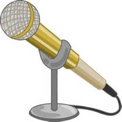 500x497 Microphone Clipart 2 Image