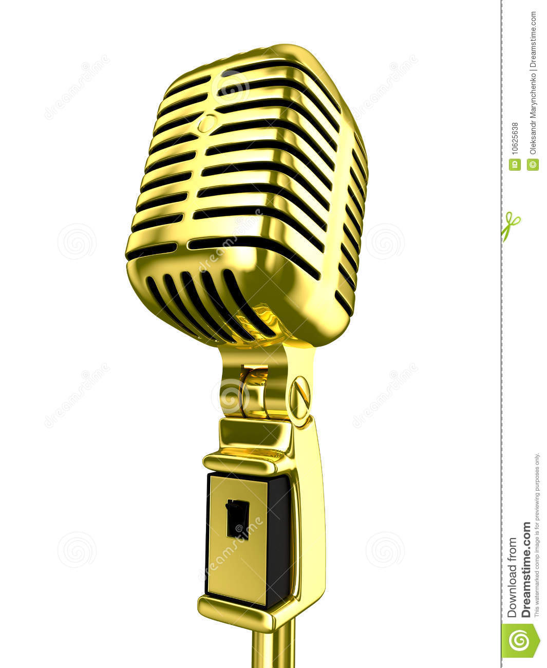 1065x1300 Microphone Clipart Gold
