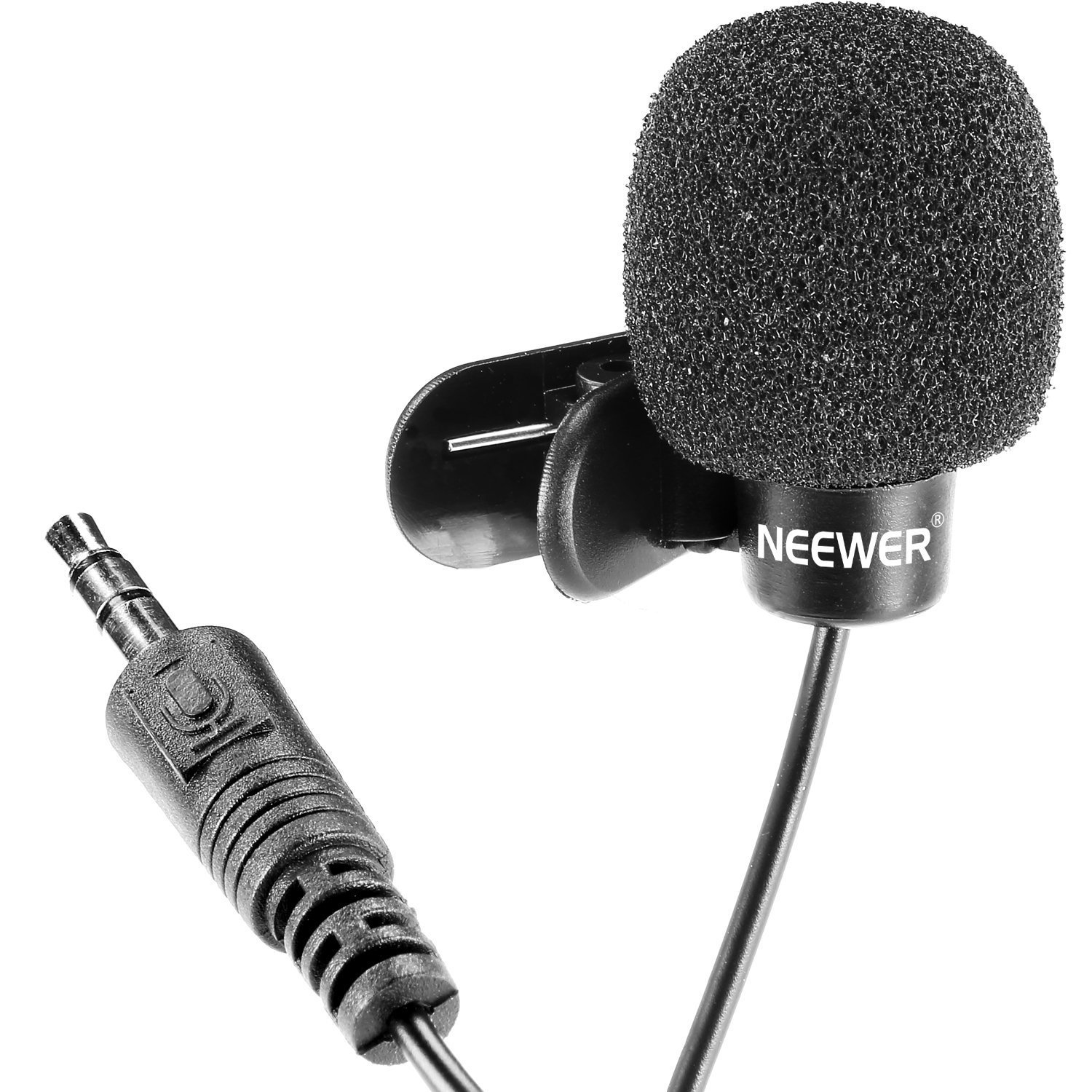 1500x1500 Mini Lapel Microphone With Hands Free Clip Amazon.in Musical