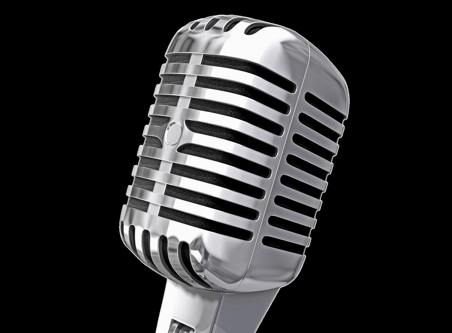 1568x1156 Vintage Microphone Transparent Png