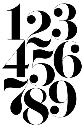 354x530 The Best Number Fonts Ideas Number Tattoo Fonts