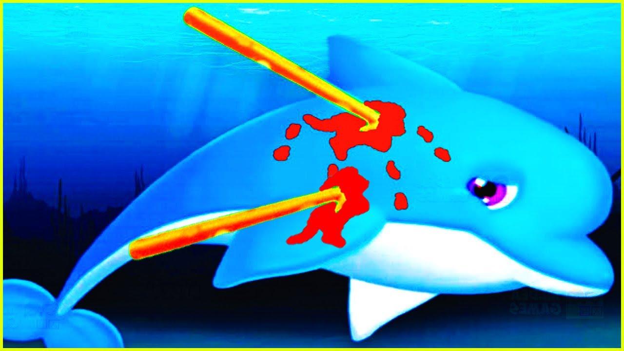 1280x720 Baby Learn Play Care Amp Help Ocean Animals Game Ocean Doctor