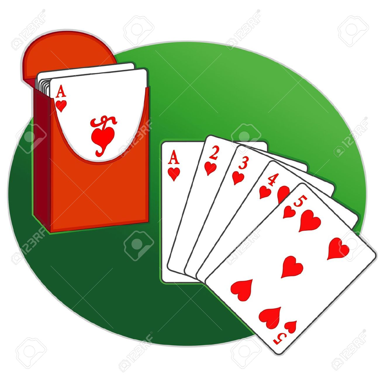 1300x1300 Poker Clipart Deck Card