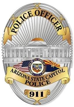 255x367 Arizona Capitol Police Le Badges