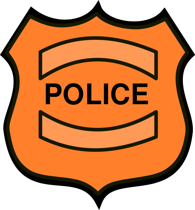 745x800 Police Badge Police Officer Badge Clipart Free Images 2
