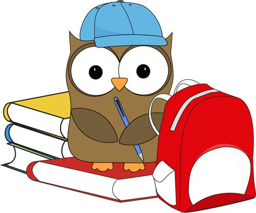 500x417 Free School Owl Clipart Image
