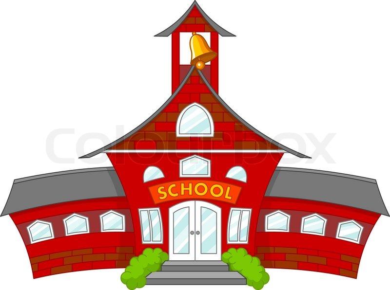 800x596 School Stock Vector Colourbox