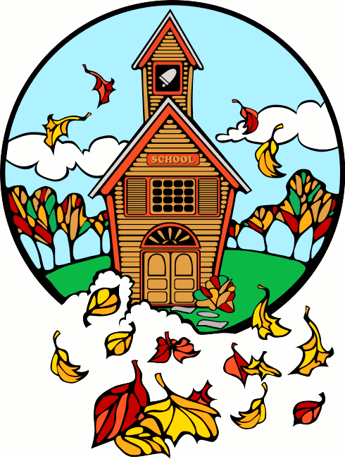 490x651 Country Schoolhouse Cliparts 198311