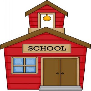 300x300 Coloring Pages Clip Art School House Schoolhouse Coloring Pages