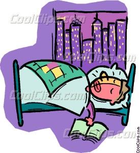 275x300 Clip Art Sleeping Person