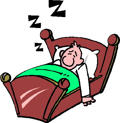 387x396 Person Sleeping Clip Art
