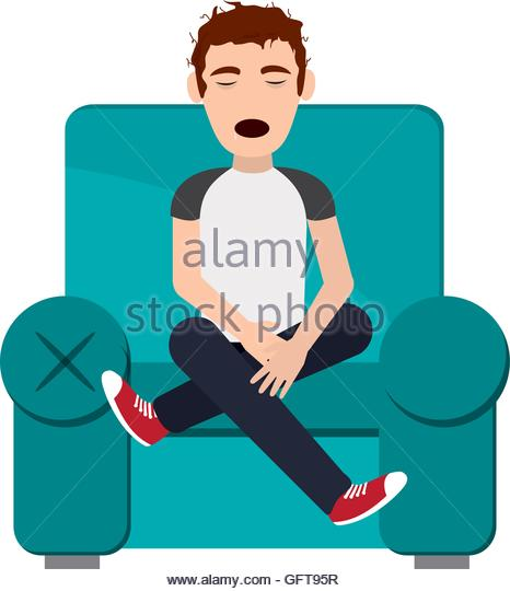 466x540 Sleeping On Sofa Icon Stock Photos Amp Sleeping On Sofa Icon Stock