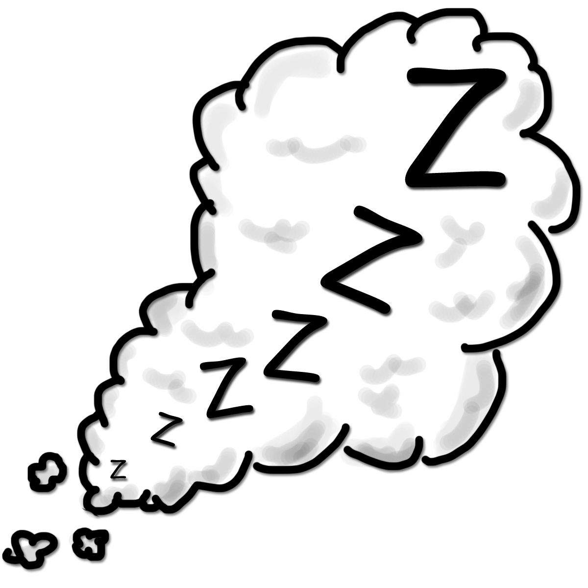1200x1200 Sleeping Person Clipart