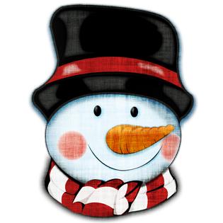315x315 Free Snowman Clipart Image Psddude