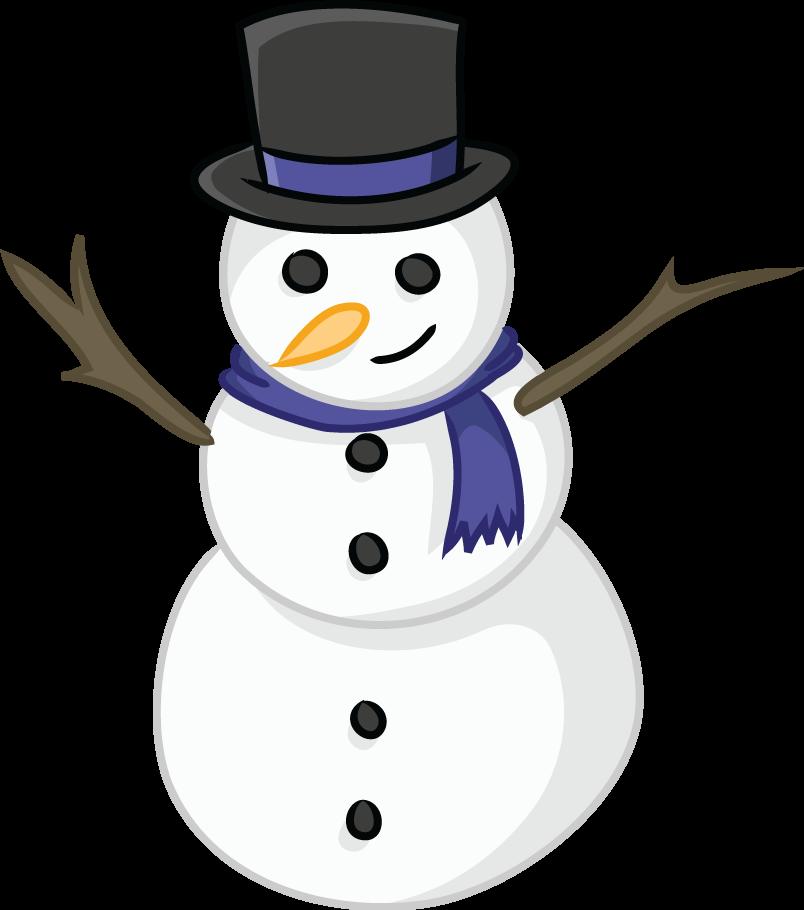804x910 Snowman Clipart