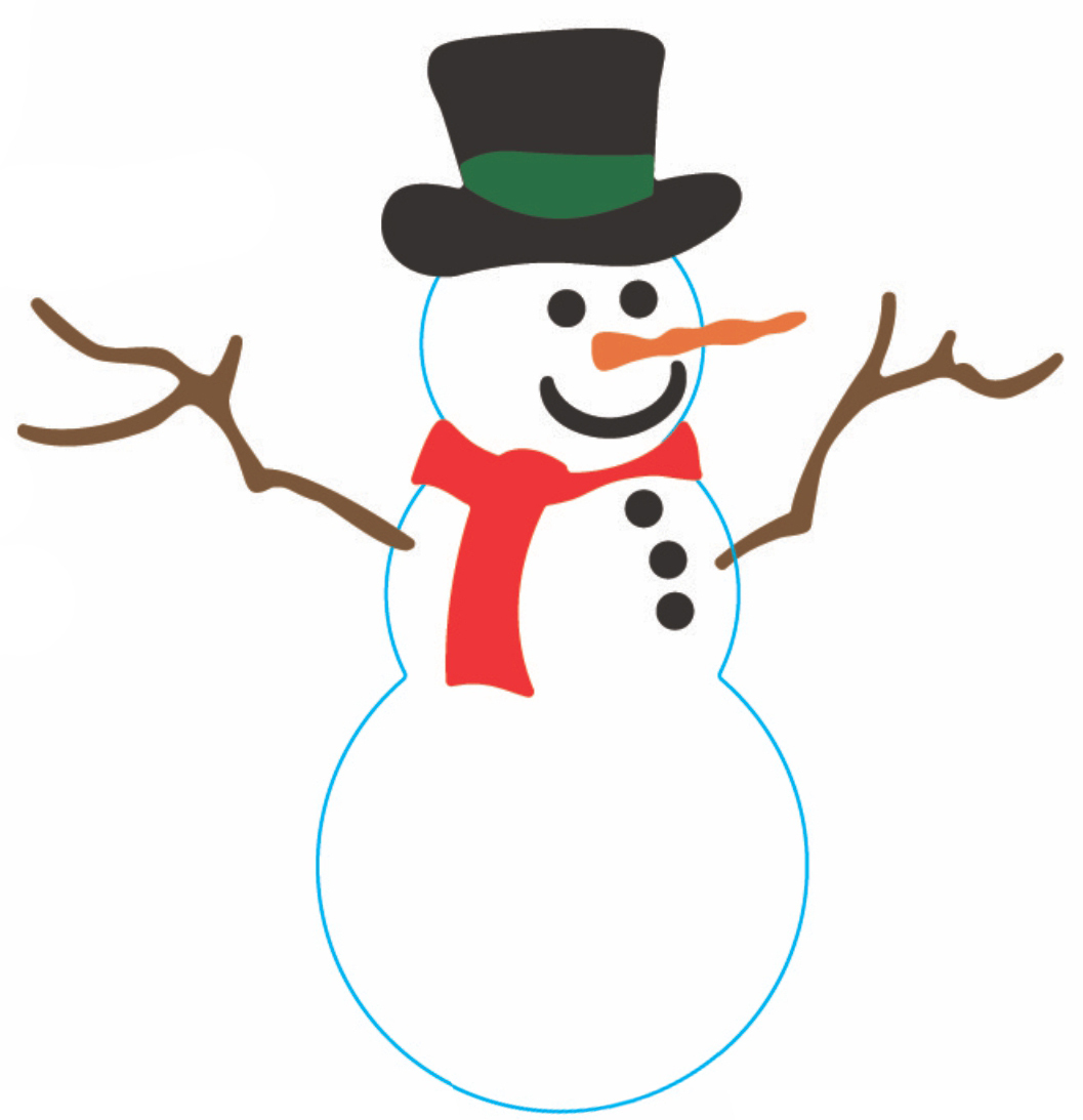 1057x1093 Snowman Clipart Frosty The Snowman