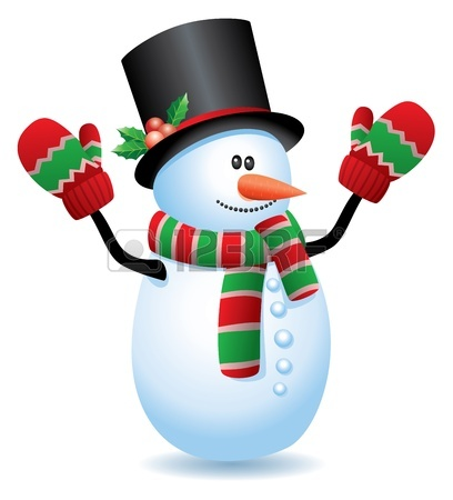 408x450 Vector Illustration Of Snowman Royalty Free Cliparts, Vectors,