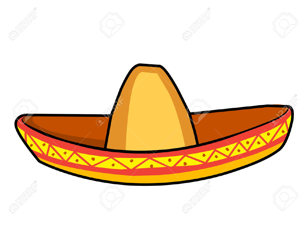 1300x1056 Straw Hat Clipart Yellow Hat