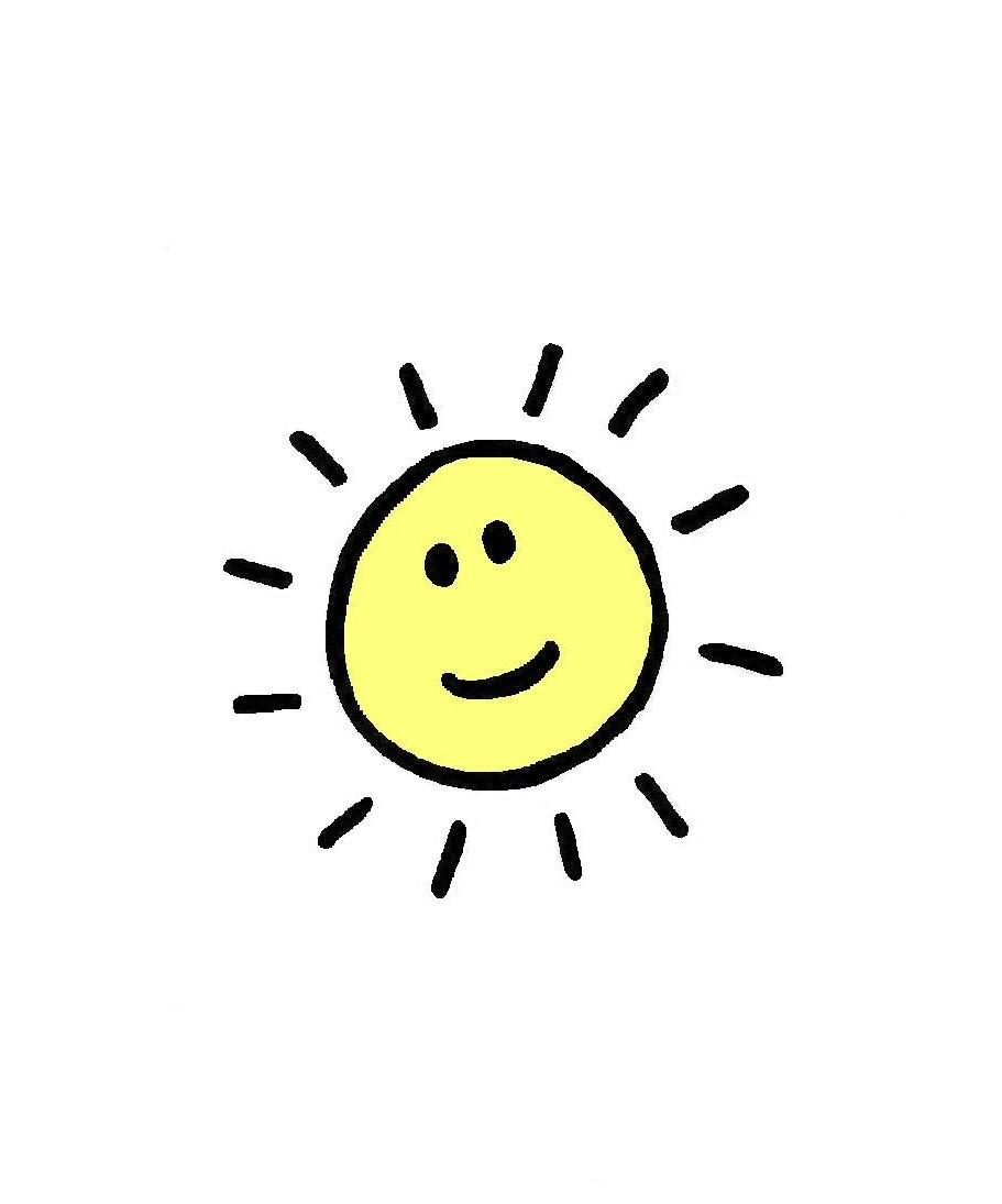 911x1095 Happy Sunshine Clipart Dromhfj Top