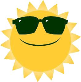 263x264 Sunshine Clipart