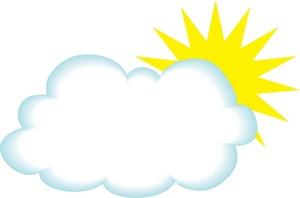 300x198 Sunshine Clipart Cloud Sun