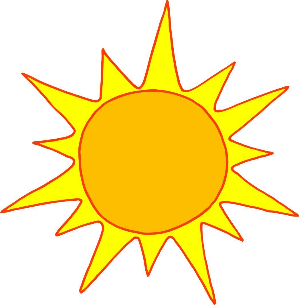 1045x1065 Sunshine Half Sun Clipart Free Clipart Images 3