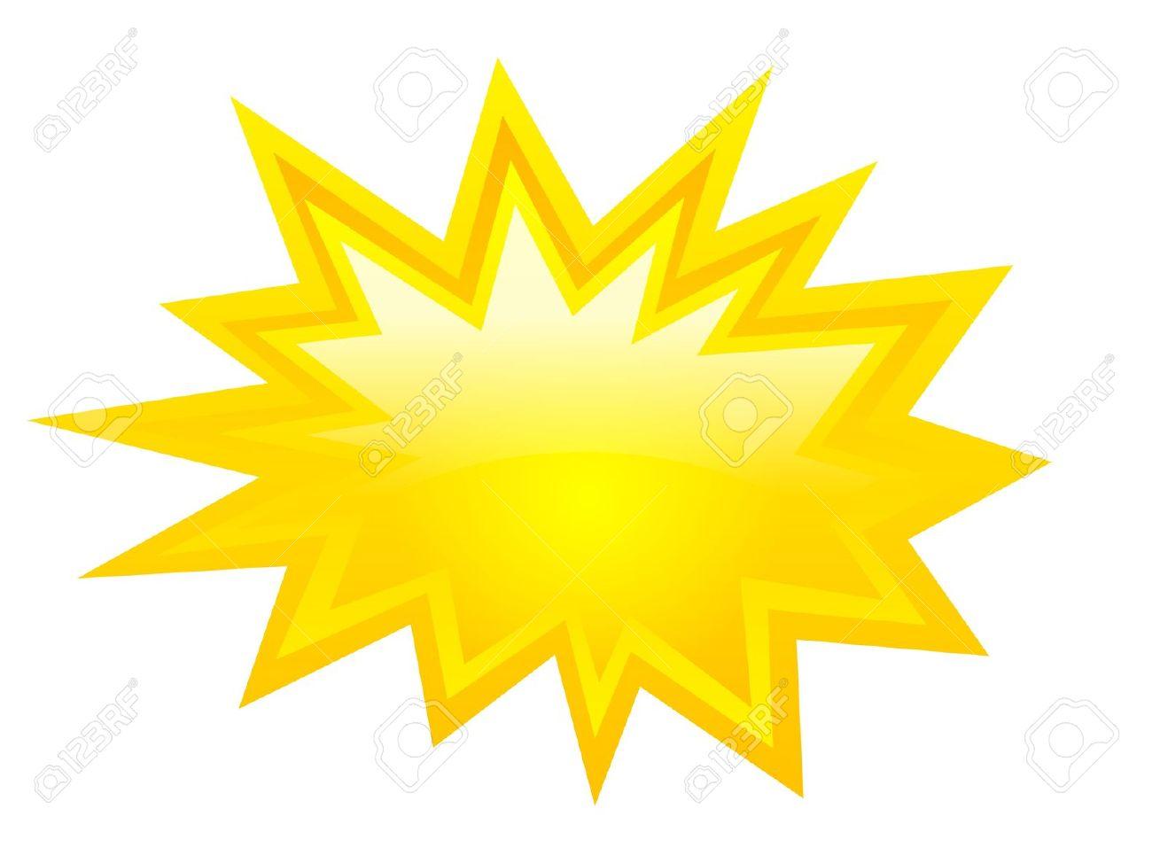 1300x974 Sunshine Clipart Burst