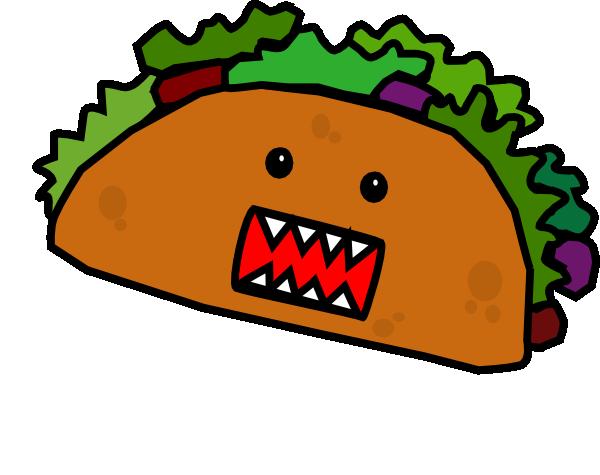 600x475 Free Taco Clipart
