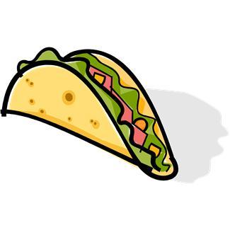 325x325 Breakfast Taco Clipart