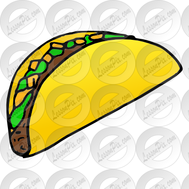 380x380 Taco Picture For Classroom Therapy Use
