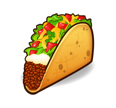 400x372 Taco Clipart