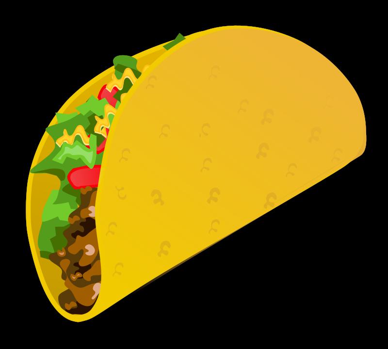 800x720 Free Mexican Taco Clip Art