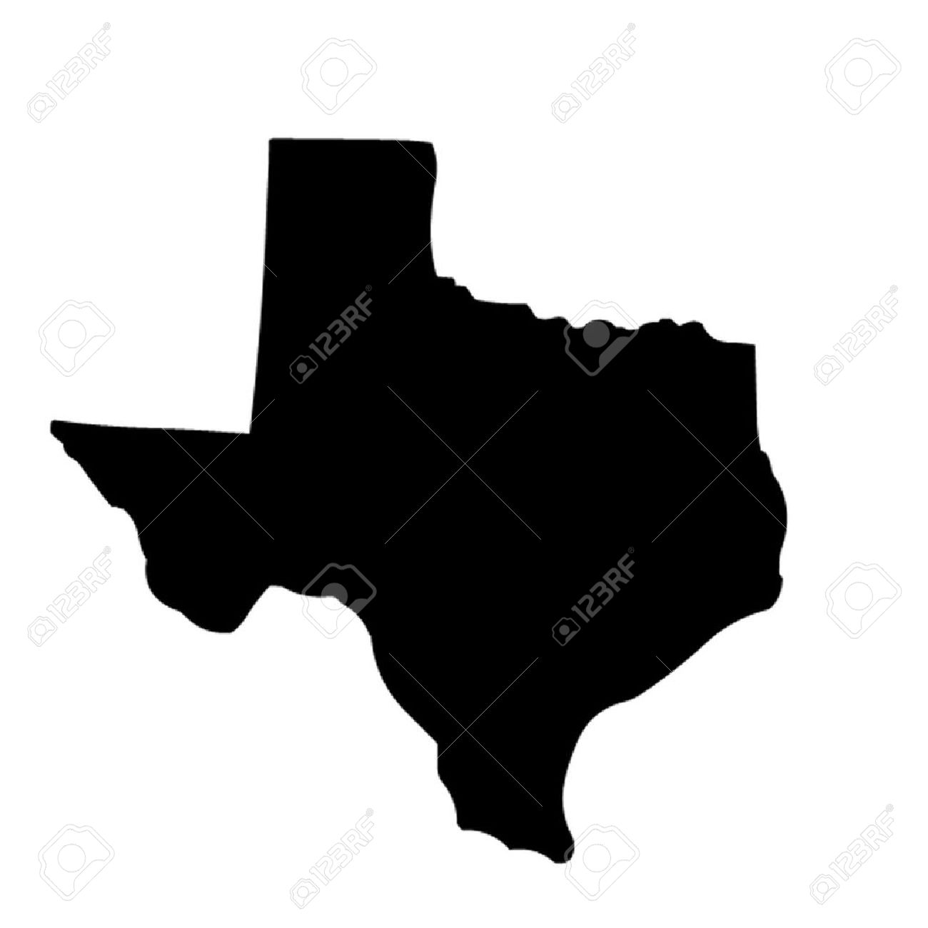 1300x1300 State Of Texas Clipart