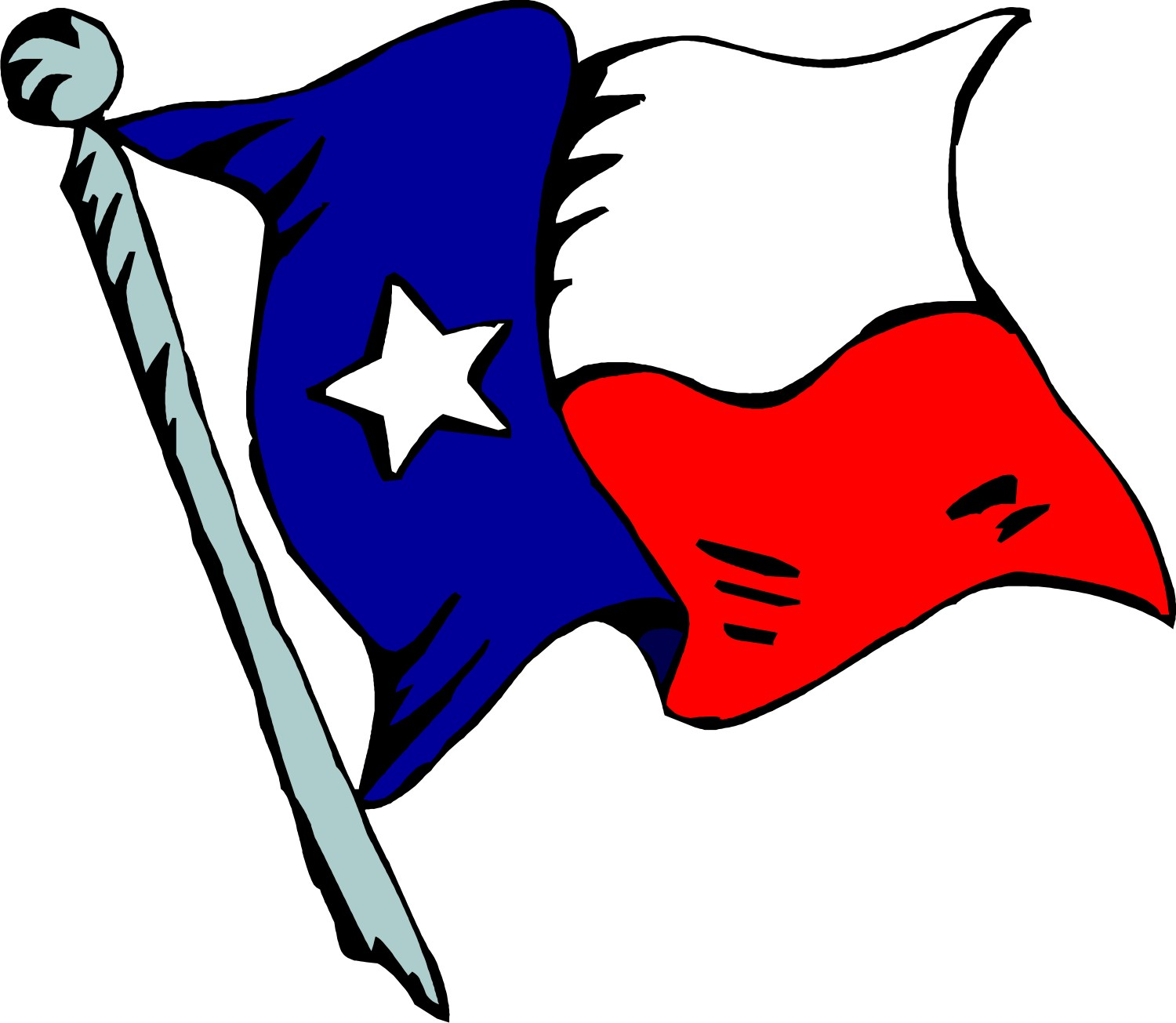 1500x1305 Texas Flag Clip Art Many Interesting Cliparts