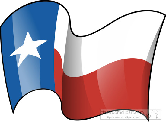 550x406 Fifty States Texas Clipart