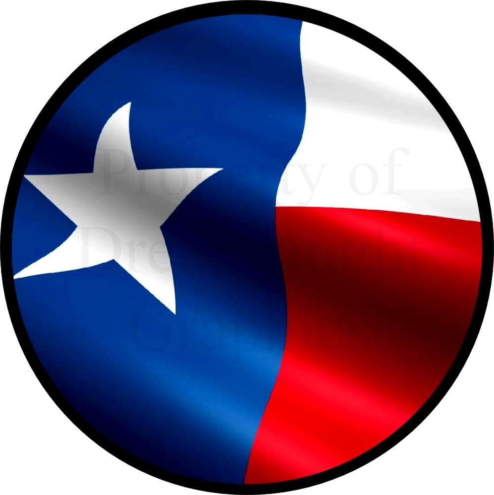 999x1001 Texas Flag Spare Tire Cover