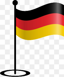 260x311 German Flag Map, Germany, Flag, Map Png And Vector For Free Download