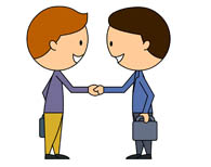 195x154 People Shaking Hands Clipart