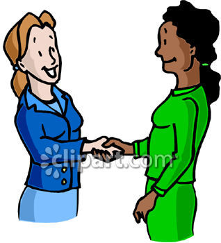 318x350 Shaking Hands Clipart