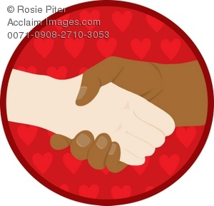 300x289 Two Hands Shaking Clipart