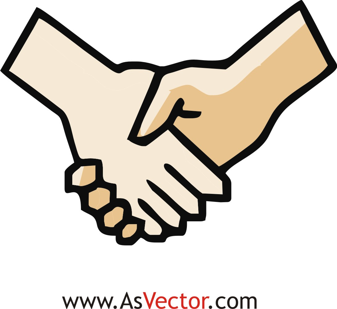1091x1001 Hand Shaking Clipart