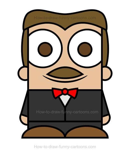 520x618 Waiter Clipart