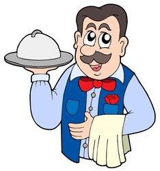 234x250 Clipart Waiter Clipartmonk