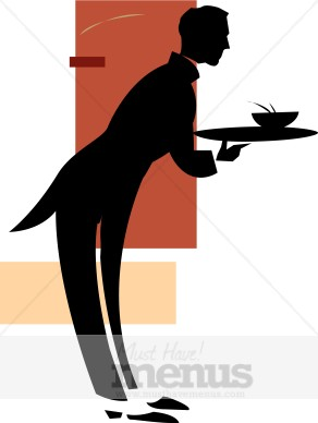 292x388 Food Waiter Clipart Catering Clipart