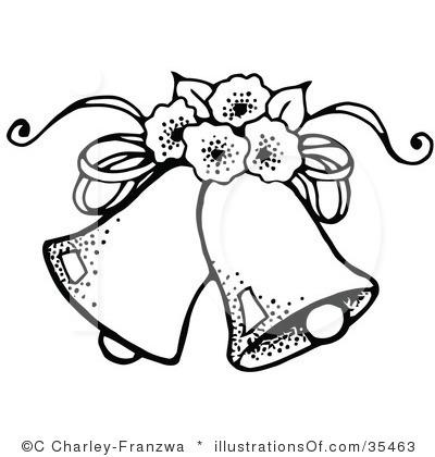 400x420 Free Clipart Of Wedding Bells