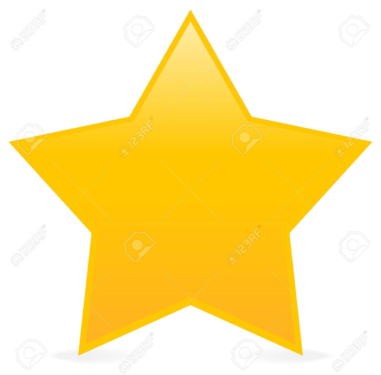 1300x1278 Yellow Star Clip Art
