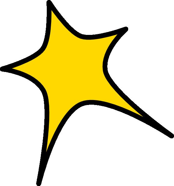 558x597 Yellow Star Clip Art