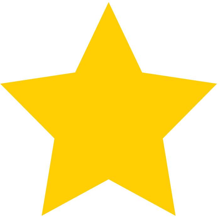 700x700 Yellow Star Clipart