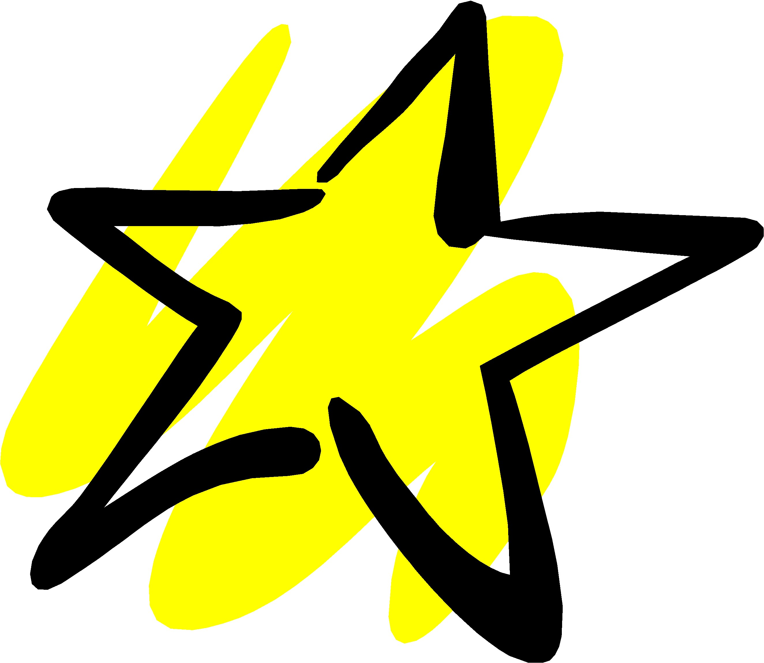 2649x2299 Yellow Star Clipart Cliparts For You